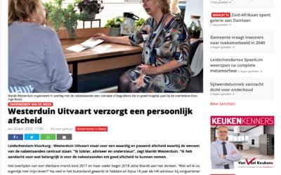 Interview in Het Krantje online